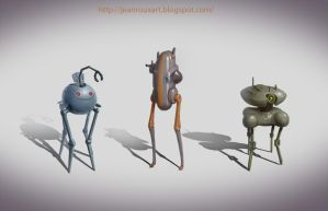 mechs 1 to 3 by JeanRoux