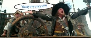 Barbossa Yaaaaaayyyyyyyy by JediMasterLink18