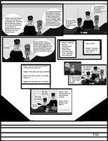 The World War 2 Saga Chap 28 Page 132 b and w by mamc1986