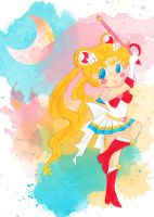 Sailor Moon - candy-coloured justice by Mezzochan