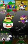 COMIC~SUPER BOWSER:  Were is Peach by Princess-Peach-64