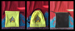 Star Trek TNG Engineering/Security/Ops Pouch by Whisski