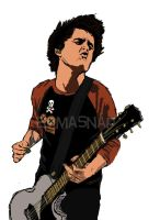Billie Joe Armstrong Illustration by emmasnap