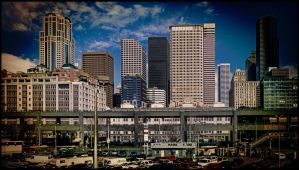 A seattle skyline by Mackingster