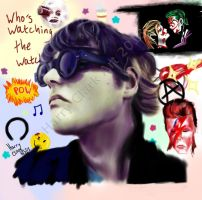 Gerard Way (Art Is Smart) by rj700