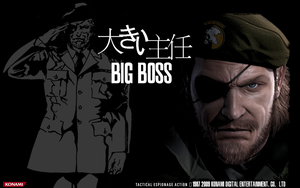 Metal Gear Solid : Big Boss by dpmm07