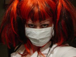 Masked Nurse by PaleGothGoddess