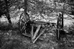 Wagon Tongue (2) (Black and White) by artisticimposter