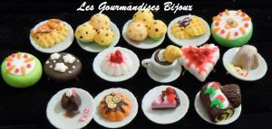 FIMO SWEET RINGS by GourmandisesBijoux