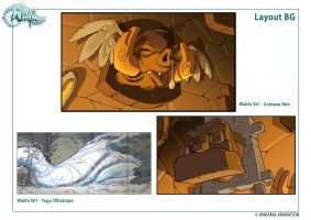 Layout BG wakfu S01 Ep divers by migouze