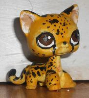 Checkers the King Cheetah by EdgeofFear