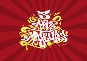 3 arts Majeurs Hiphop Festival by sizer92