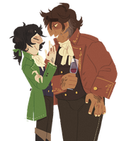 danton and desmoulins by snarbolax