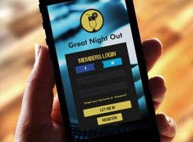 Night Out Planner App by Agnulessa