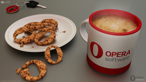 Opera Breakfast by Luther2s