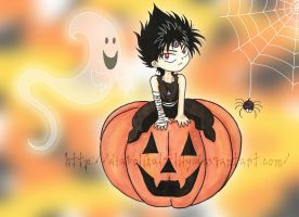 Halloween 09 with Hiei by diabolikal-lily
