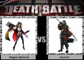 Kagura vs Auron DEATH BATTLE by Iorigaara