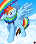 Something about rainbows... by Kivwolf