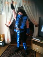 Sub Zero Cosplay 3 by Playflame1