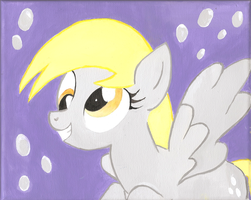 Derpy Hooves Painting by CaityCadaver