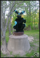 cosplay- Lucky Umbreon by NightTwilightWolf