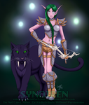 AT// Artemyss and Erebus by Synoiren