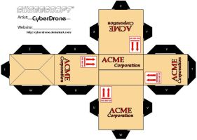 Cubee - Acme Box 2 by CyberDrone