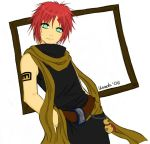 Gaara - colours by AnorakBlue