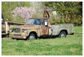An Old Truck Rusting Away by TheMan268
