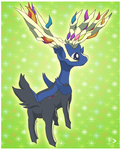 A wild chibi xerneas appeared by pichu90