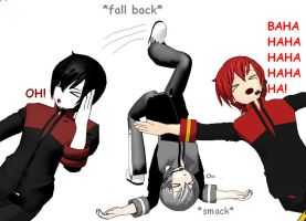 *fall, smack, laugh* by Hairaito-Shion