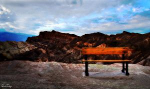 Death Valley Bench by Deirdre-T