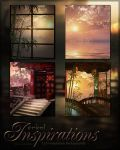 Orient Inspirations Backgrounds by cosmosue