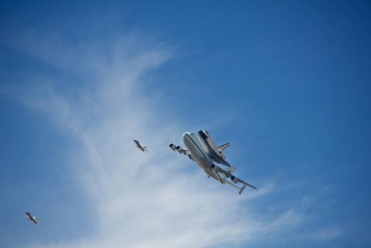 Endeavor Flyover, Los Angeles by xraystyle