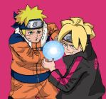 Father and son RASENGAN2 by corkysan