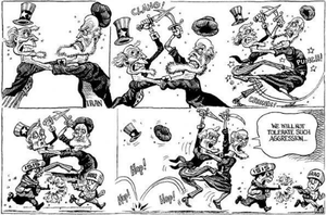 The conflict between USA and Iran. by someone1fy