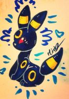 Umbreon by Marmarmia