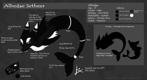 Albedae Reference Sheet by Nai-Alei