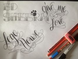 Lettering Practice by Its-Meeee