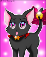 TMM: Ichigo in her cat form by Sweet-Blessings