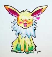 Day 4- Jolteon by Jaylynessa