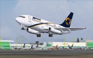 Magnicharters 737-200 Take-Off - FS2004 by B737TheAirliner