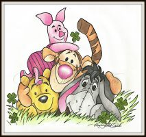 Winnie the Pooh by KaylaSevier