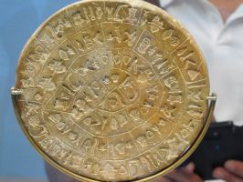 Disk of Phaistos by Lordnarunh
