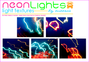 neon lights - light texures by Mooniii