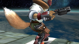 Fox has 2 Blasters? by SmashBros2008