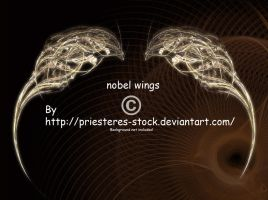 nobel wings by priesteres-stock
