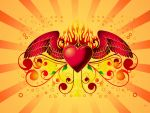Winged Heart by chamirra