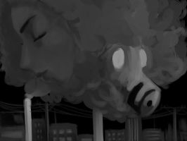 Two Faces of Air Pollution by Lilitjya