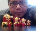 Me and Russian Nestling Dolls by Pabloramosart